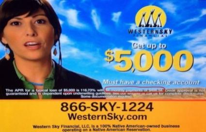 How to deal with Western Sky and Cash Call Loans