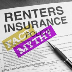 Renters insurance - 5 Myths and realities