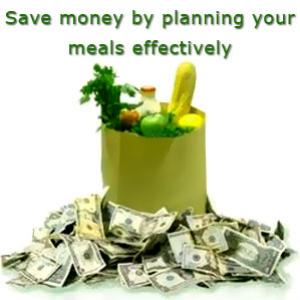 How you can save money by planning your meals effectively