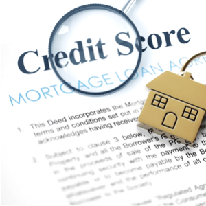 Determine whether or not taking out a mortgage loan will hurt your credit
