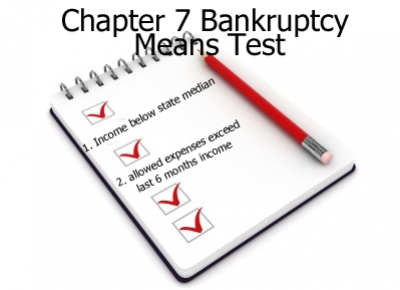 Chapter 7 Means Test Explained