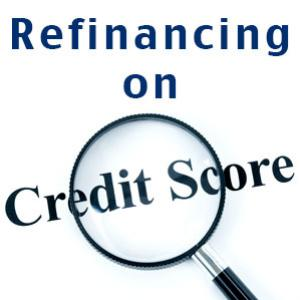 The impact of refinancing on credit scores
