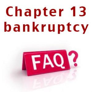 14 FAQ on chapter 13 bankruptcy