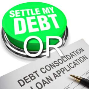 Which is the best option  Debt settlement or consolidation?