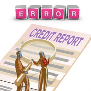Reasons why there are credit report errors