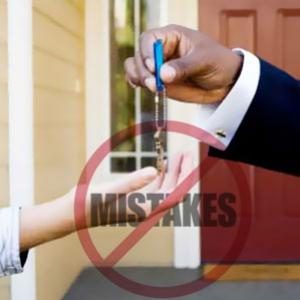 What mistakes you should avoid as a first time homebuyer