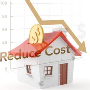 How can you reduce your mortgage loan cost considerably?