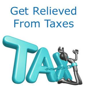 Get Relieved From Taxes