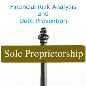 Financial Risk Analysis and Debt Prevention in Sole Proprietorship