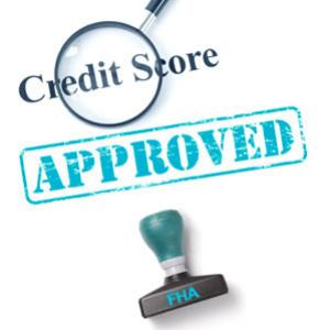 Are credit scores important to get a FHA loan?