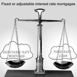 Fixed or adjustable interest rate mortgages Which one is better