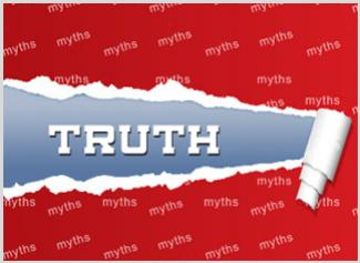 Clear your mind off myths before going for debt consolidation.