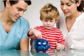 Teach money management skills to children at young age