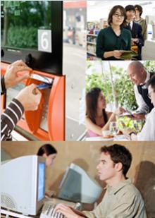 Modus operandi of the credit card identity thieves