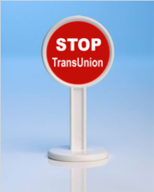 TransUnion has been advised to not show reports to the recruiters