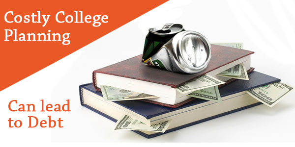 College planning mistakes that can generate debt