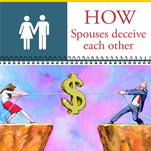 Is financial infidelity as catastrophic as sexual infidelity?