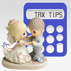 7 Tips for the newlyweds to deal with the Tax Man and finances smartly