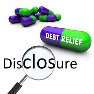 How Important Are Disclosures by Debt Relief Providers
