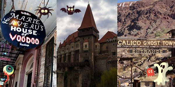 Spooky gateways: Creepiest places to experience the Halloween spell