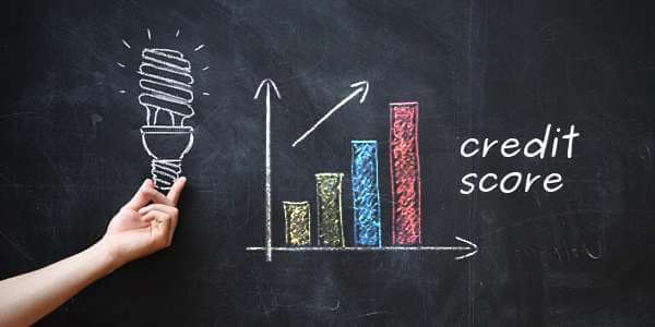 Newsletter banner image for good credit record to increase score